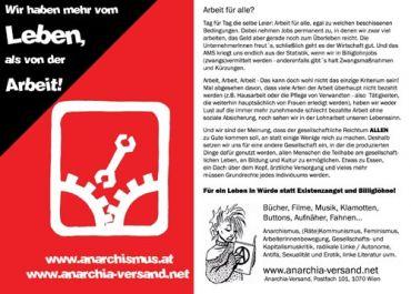Anarchia-Flyer