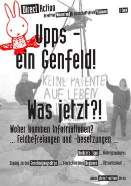 Direct Action - Heft: Upps - ein Genfeld! Was jetzt?!