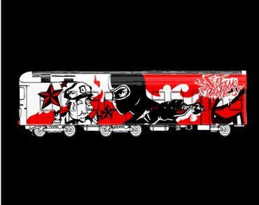 Graffiti train (Taill)
