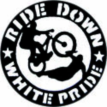 Ride down white pride