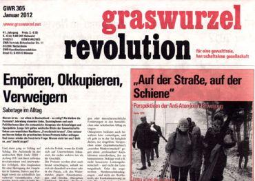Graswurzelrevolution Nr. 365 (Jänner 2012)