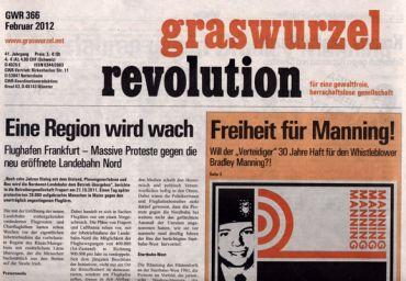 Graswurzelrevolution Nr. 366 (Februar 2012)