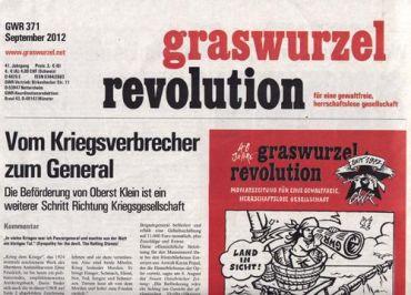 Graswurzelrevolution Nr. 371 (September 2012)