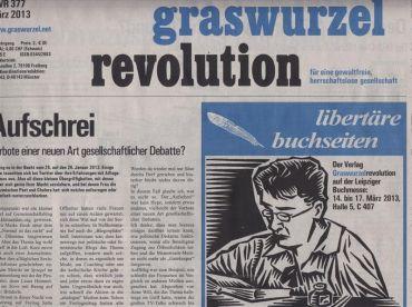 Graswurzelrevolution Nr. 377 (März 2013)