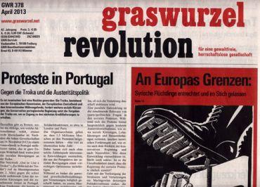 Graswurzelrevolution Nr. 378 (April 2013)