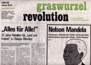 Graswurzelrevolution Nr. 385 (Jänner 2014)