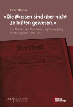 Die Massen sind aber nicht zu halten gewesen. Zur Streik- und Sozialisierungsbewegung im Ruhrgebiet 1918/19