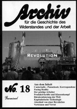 Archiv für die Geschichte des Widerstandes und der Arbeit 18