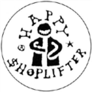 Happy shoplifter