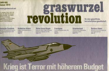 Graswurzelrevolution Nr. 405 (Jänner 2016)