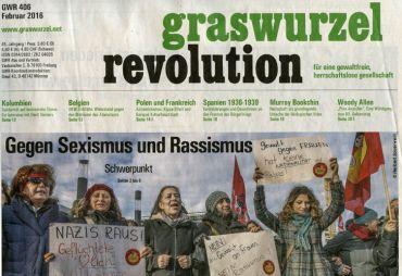 Graswurzelrevolution Nr. 406 (Februar 2016)