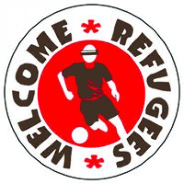 Refugees welcome - Fußball