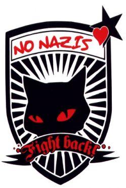 Aufkleber No Nazis