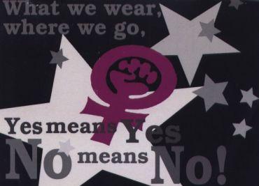 Aufkleber No means No! (RAW)