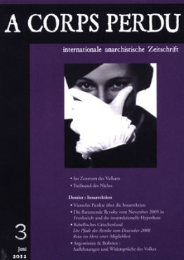 A Corps Perdu - Internationale anarchistische Zeitschrift Nr. 3