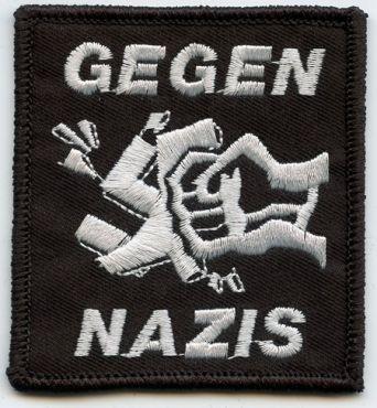 Gegen Nazis (gestickt)