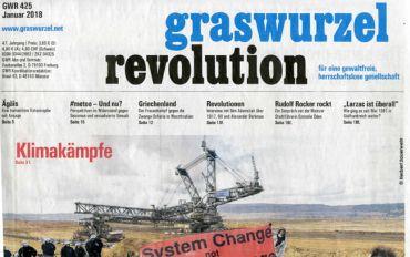 Graswurzelrevolution Nr. 425 (Jänner 2018)