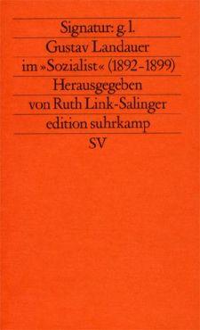 (Antiquariat) Gustav Landauer im Sozialist (1892-1899)
