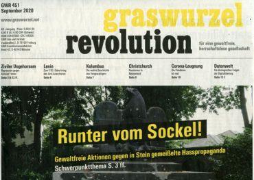 Graswurzelrevolution Nr. 451 (September 2020)