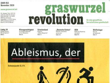 Graswurzelrevolution Nr. 453 November 2020)