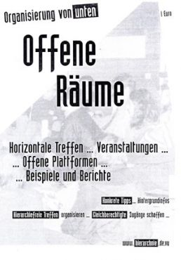 Direct Action - Heft: Offene Räume / Organisierung von unten