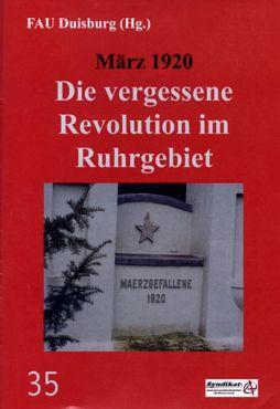 FAU Duisburg (Hg.): März 1920
