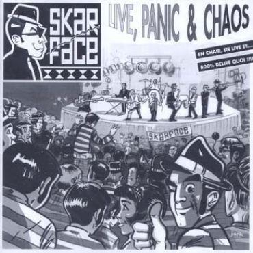 Skarface - Live, panic & chaos