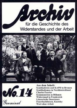 Archiv für die Geschichte des Widerstandes und der Arbeit 14