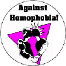 Against homophobia 3 (schwarz)