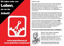 Anarchia-Flyer