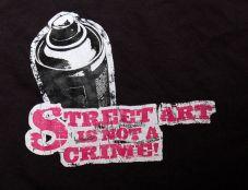 Streetart is not a crime! (TS)