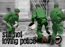 Aufkleber Still not loving Police 2 (A6)