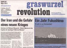 Graswurzelrevolution Nr. 367 (März 2012)