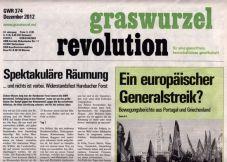 Graswurzelrevolution Nr. 374 (Dezember 2012)