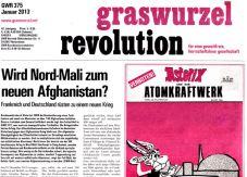 Graswurzelrevolution Nr. 375 (Jänner 2013)