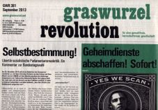 Graswurzelrevolution Nr. 381 (September 2013)