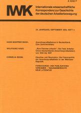 (Antiquariat) IWK-Korrespondenz Heft 3, Sept. 1989 (25. Jg.)
