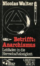 (Antiquariat) Betrifft - Anarchismus