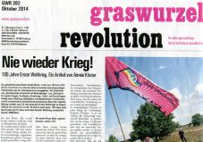 Graswurzelrevolution Nr. 392 (Oktober 2014)