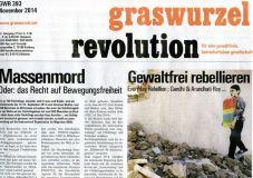 Graswurzelrevolution Nr. 393 (November 2014)