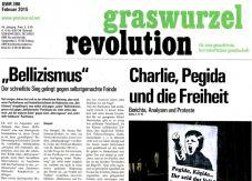 Graswurzelrevolution Nr. 396 (Februar 2015)