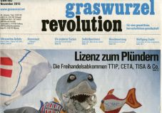 Graswurzelrevolution Nr. 403 (November 2015)