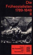 (Antiquariat) Die Frühsozialisten 1789-1848 - Band 2