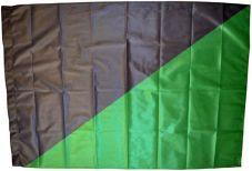 Fahne Schwarz-grün