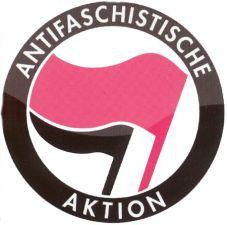 Aufkleber Antifaschistische Aktion 2.0