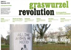 Graswurzelrevolution Nr. 411 (September 2016)