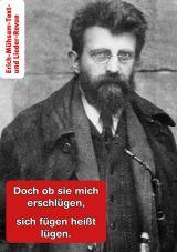 Erich Mühsam Text- und Lieder-Revue (+ CD)