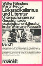 (Antiquariat) Linksradikalismus und Literatur, Band 1