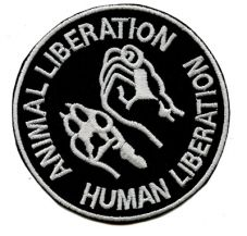 Animal Liberation - Human Liberation (gestickt)