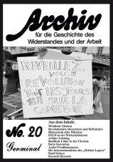 Archiv für die Geschichte des Widerstandes und der Arbeit 20